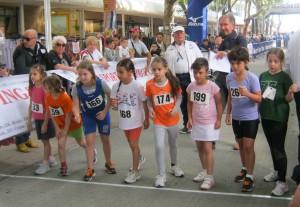 Partenza Pulcine 42° Maratonina dei Laghi