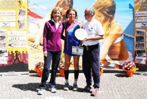 Laura Fogli, Rita Ligi, Pierluigi Grossi. Maratonina Dei Laghi 2017